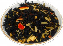 Чай черный HANSA TEA Апельсин со сливками, 500 г, фольгированный пакет, крупнолистовой ароматизированный чай, купить чай