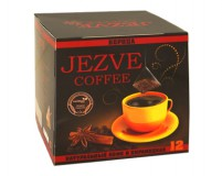 Кофе в пирамидках Jezve корица (Джезве) 72 г, в коробке 12 пирамидок, доставка кофе в офис