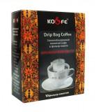 Кофе в фильтр-пакетах Drip Bag Coffee (Дрип Бэг Кофе) Бразильский Сантос, классический , Дрип кофе