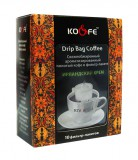 Кофе в фильтр-пакетах Drip Bag Coffee (Дрип Бэг Кофе) Ирландский Крем, Дрип кофе