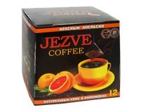 Кофе в пирамидках Jezve Красный Апельсин (Джезве) 72 г, в коробке 12 пирамидок, доставка кофе в офис