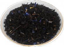 Чай черный HANSA TEA Черника со сливками, 500 г, фольгированный пакет, крупнолистовой ароматизированный чай, купить чай