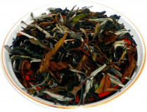 Чай белый HANSA TEA Бай Му Дань Белый Пион, 500 г, фольгированный пакет, крупнолистовой белый чай, купить чай