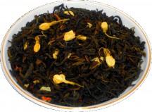 Чай зеленый HANSA TEA Жасминовый сад, 500 г, фольгированный пакет, крупнолистовой зеленый ароматизированный чай, купить чай