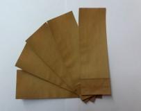 Пакет однослойный бумажный для фасовки развестного крупнолистового чая, 7 х 21 см
