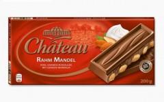Шоколад Chateau Rahm Mandel (Шато Рам Мандель) 200 г, плитка, немецкий шоколад