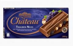 Шоколад Chateau Trauben Nuss (Шато Траубен Нусс) 200 г, плитка, немецкий шоколад