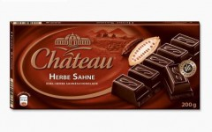 Шоколад Chateau Herbe Sahne (Шато Хербе Зане) 200 г, плитка, немецкий шоколад