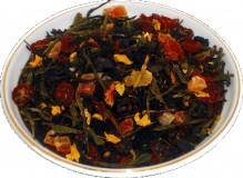 Чай черный HANSA TEA Волшебная луна, 500 г, фольгированный пакет, крупнолистовой ароматизированный чай, купить чай