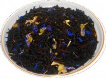 Чай черный HANSA TEA Эрл Грей голубой цветок, 500 г, фольгированный пакет, крупнолистовой ароматизированный чай, купить чай