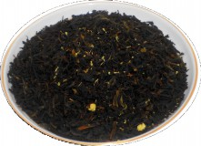 Чай черный HANSA TEA Эрл Грей жасмин, 500 г, фольгированный пакет, крупнолистовой ароматизированный чай, купить чай
