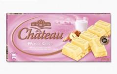 Шоколад Chateau Weisse Crisp (Шато Вайссе Крисп) 200 г, плитка, немецкий шоколад