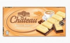 Шоколад Chateau Kaffee Sahne (Шато Каффии Зане) 200 г, плитка, немецкий шоколад