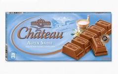 Шоколад Chateau Alpen Sahne (Шато Альпен Зане) 200 г, плитка, немецкий шоколад