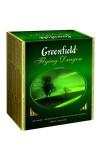 Чай зеленый Greenfield Flying Dragon пакетированный 100 пакетиков в упаковке