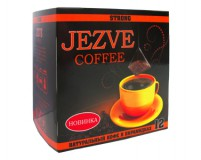 Кофе в пирамидках Jezve strong (Джезве стронг) 72 г, в коробке 12 пирамидок, доставка кофе в офис