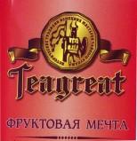 Teagreat, Фруктовая мечта, фруктовый, весовой (0,1 кг.)