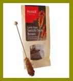 Сахар на палочке леденцовый коричневый (5шт)