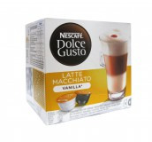 Кофе в капсулах Nescafe Dolce Gusto Latte Macchiato Vanilla (Латте Макиато Ваниль) упаковка 16 капсул