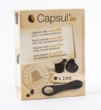Пустые капсулы Capsul'in (Капсулин) в упаковке 100 капсул