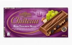 Шоколад Chateau Rum Trauben Nuss (Шато Рам Траубен Нусс) 200 г, плитка, немецкий шоколад