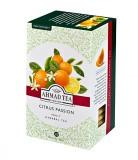 Чай травяной Ahmad Citrus Passion (Ахмад Цитрус Пэйшн, с апельсином и лимоном), пакетики в конвертах из фольги, 20 саше по 2г.