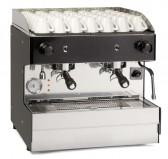 Профессиональная полуавтоматическая кофемашина  8B (LUMAR) Giulia 2 gruppi semiautomatica COMPATTA (под заказ)