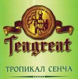 Teagreat, Тропикал сенча, зеленый фруктовый, весовой (0,1 кг.)