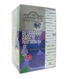Чай зеленый Ahmad (Ахмад) Блуберри Бриз с ароматом голубики ( 20саше по 2гр.)